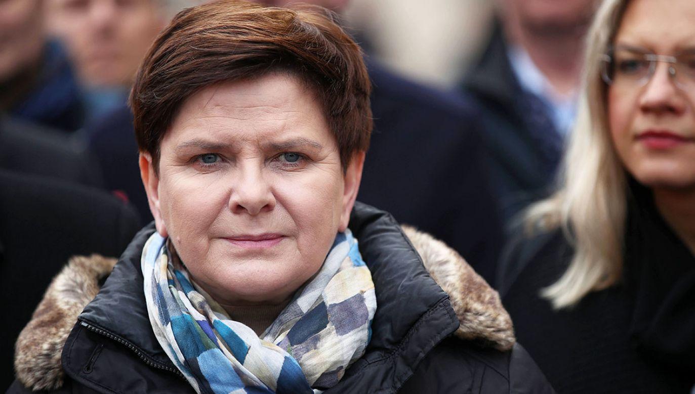 Beata Szydło kontynuuje podróż do Brukseli (fot. arch.PAP/Ł.Gągulski)