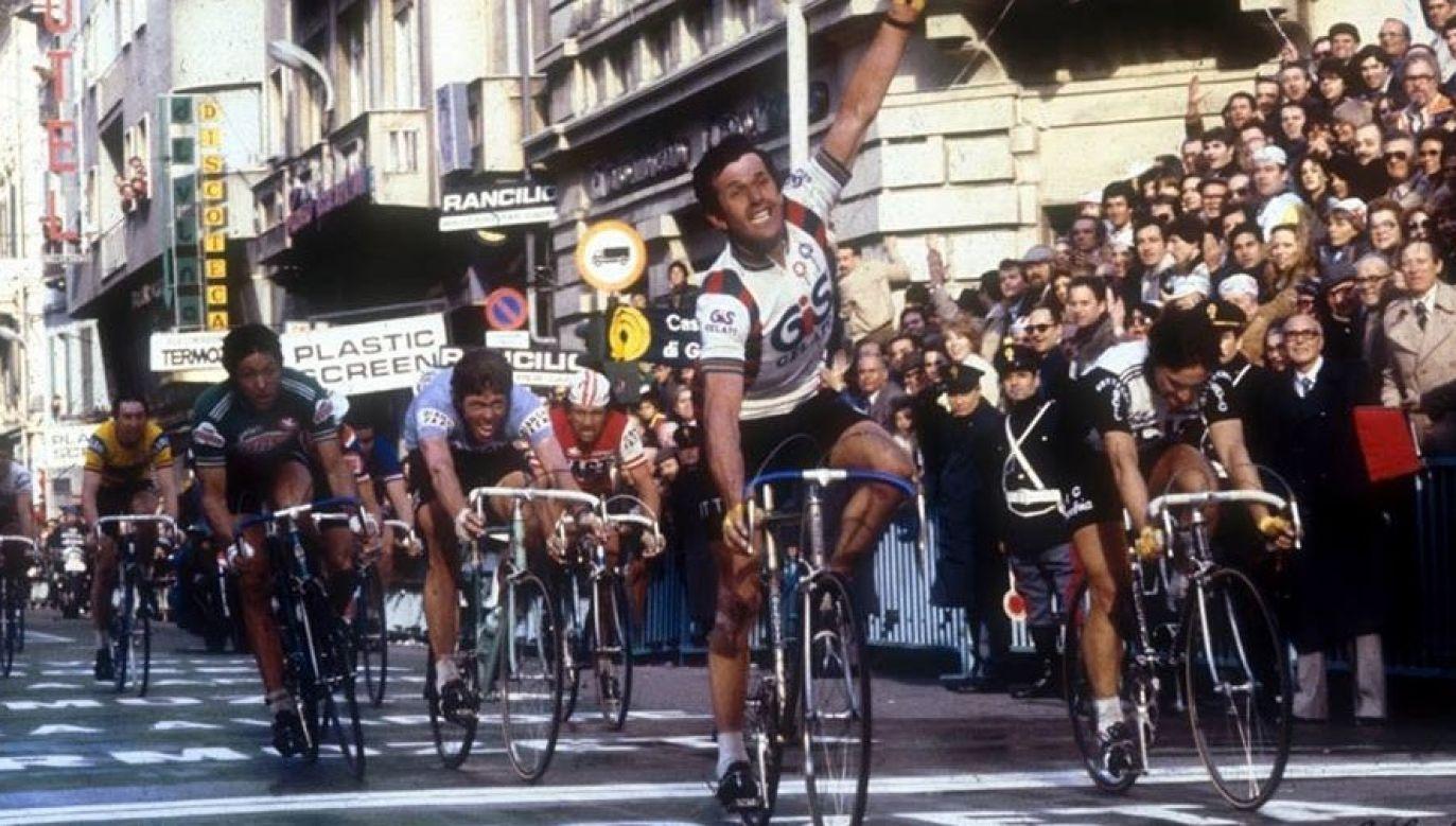 Pierino Gavazzi wygrał m.in. klasyk Mediolan-San Remo (fot. TT/Ciclo 21)