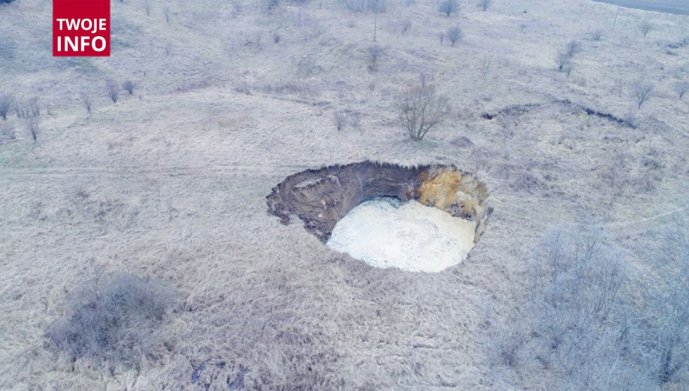 Kopalnia gipsu i soli w Wapnie zakończyła eksploatację w 1977 r (fot. Twoje Info)