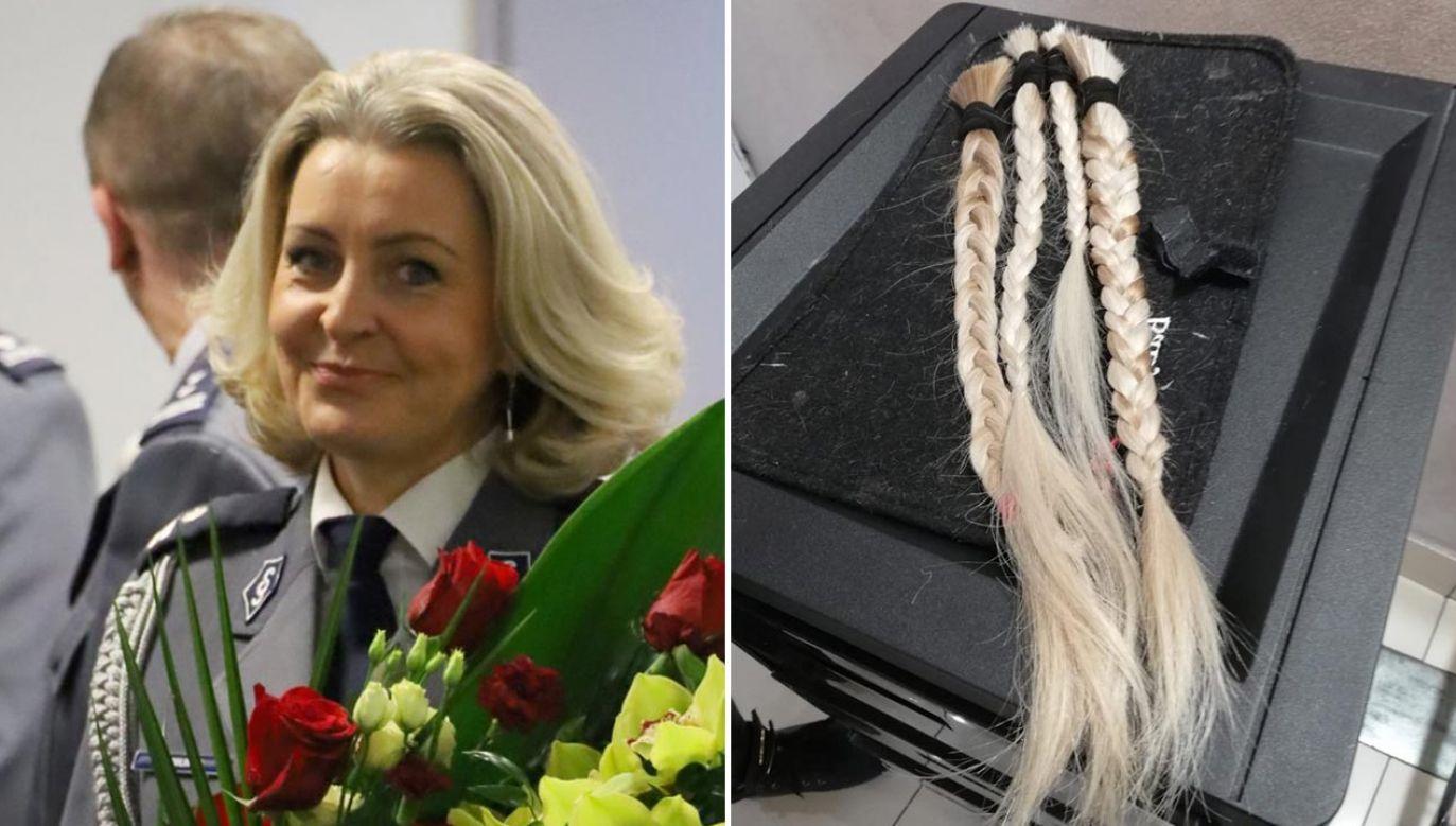 Podinsp. dr Aneta Pawlińska przez większość zawodowego życia związana jest z kryminalistyką (fot. Policja)