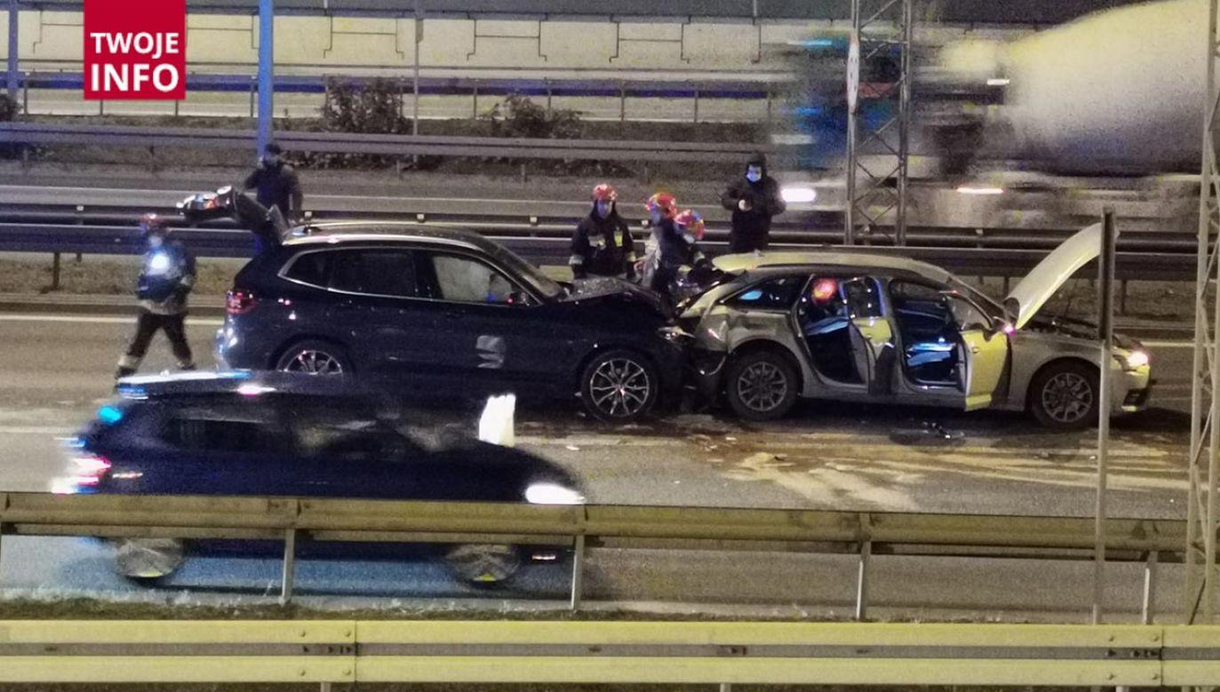 Wypadek na S8 (fot. Twoje Info)