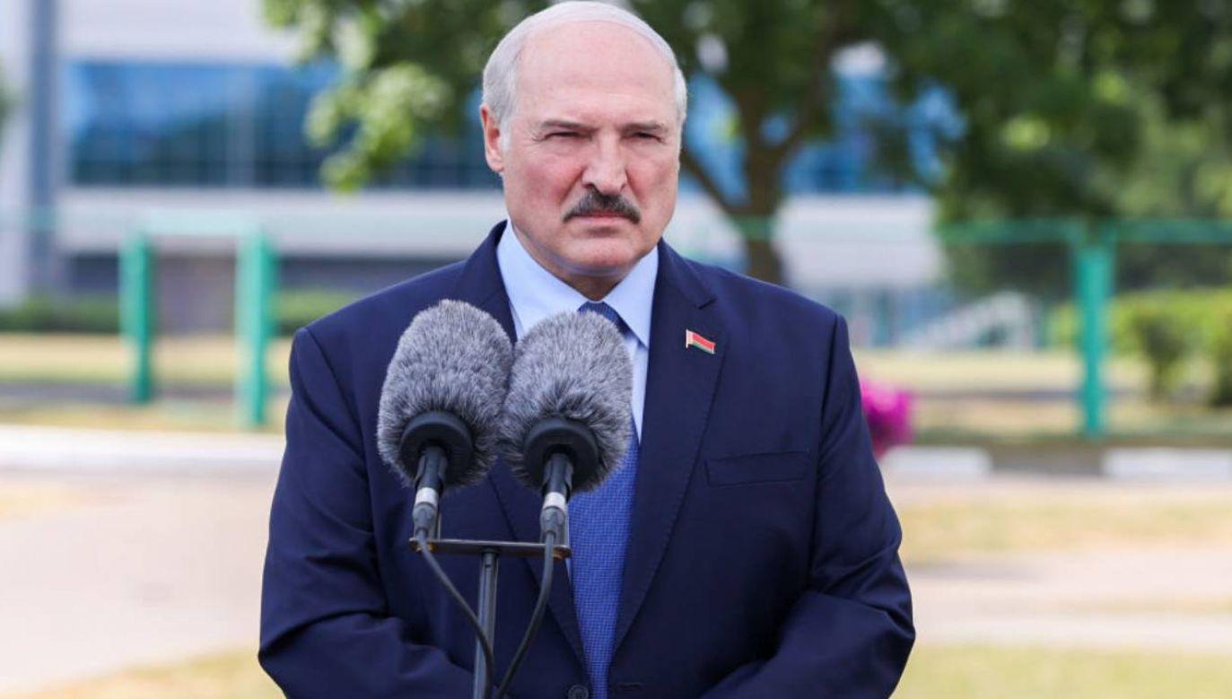 Sytuacja na Białorusi jest dramatyczna (fot.Andrei Pokumeiko\TASS via Getty Images)