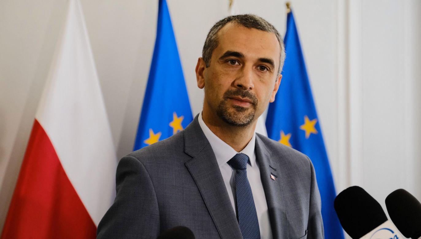 Marek Pęk powiedział, że należy wprowadzić rozwiązania, które funkcjonują w Sejmie (fot. PAP/Mateusz Marek)