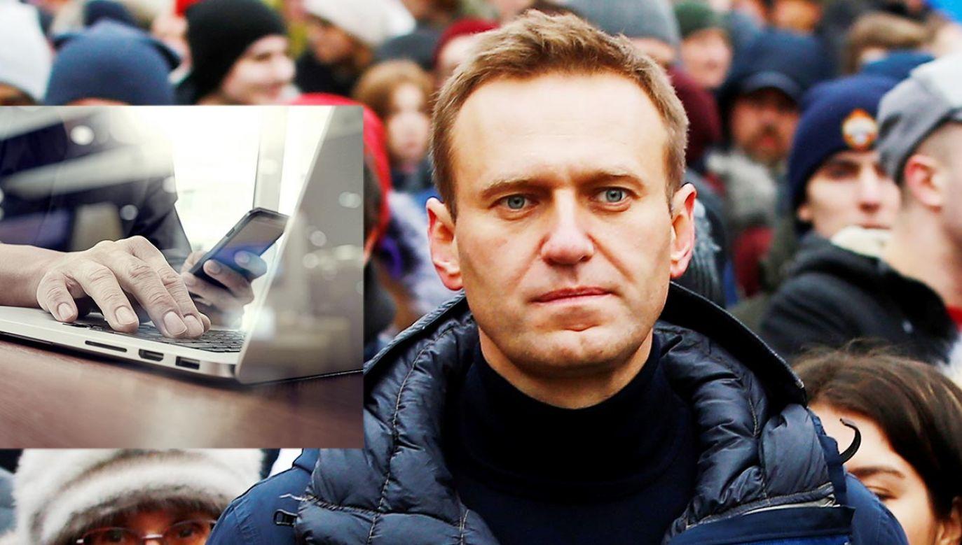 Opozycjonista Aleksiej Nawalny (fot. Shutterstock; Sefa Karacan/Anadolu Agency/Getty Images)