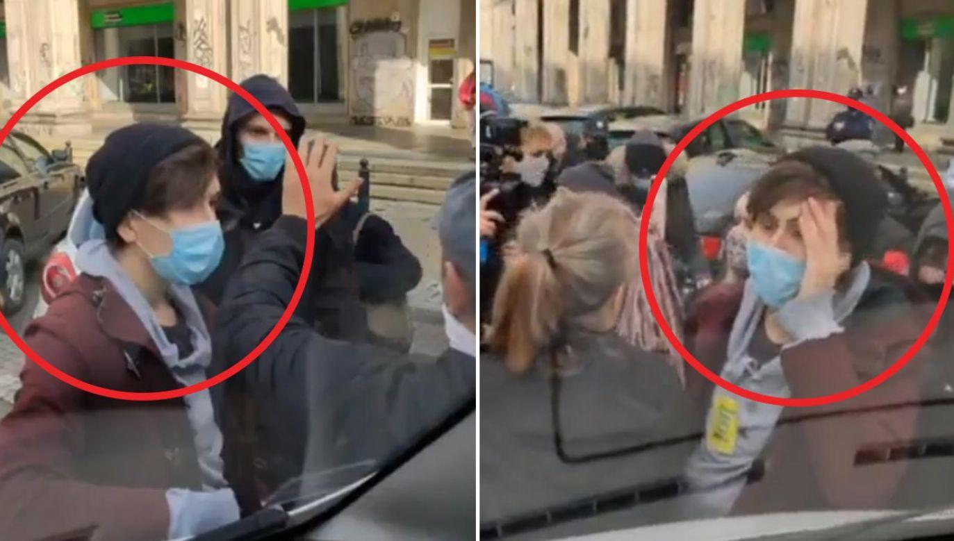 Wolontariusze, którzy znajdowali się w furgonetce, wezwali policję (fot. Facebook/Fundacja Pro - Prawo do Życia)