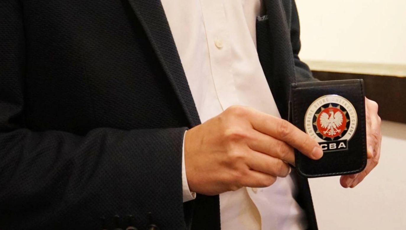 Oszuści podają się za agentów CBA (fot. CBA)