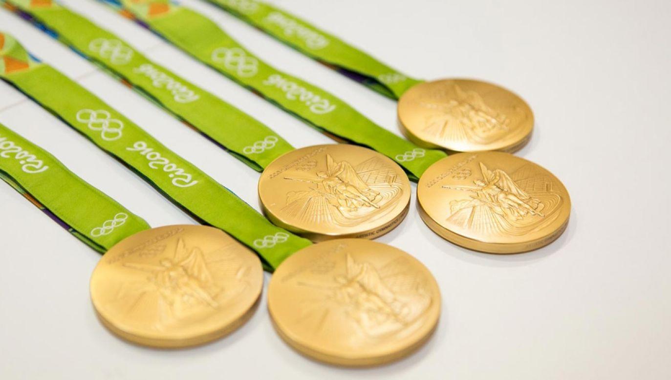 Medale dla sportowców będą wykonane z metali szlachetnych uzyskanych w procesie recyklingu (mat.pras.)