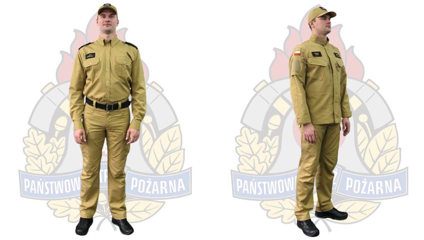 Pierwsze komplety mają trafić do strażaków na początku przyszłego roku (fot. gov.pl)