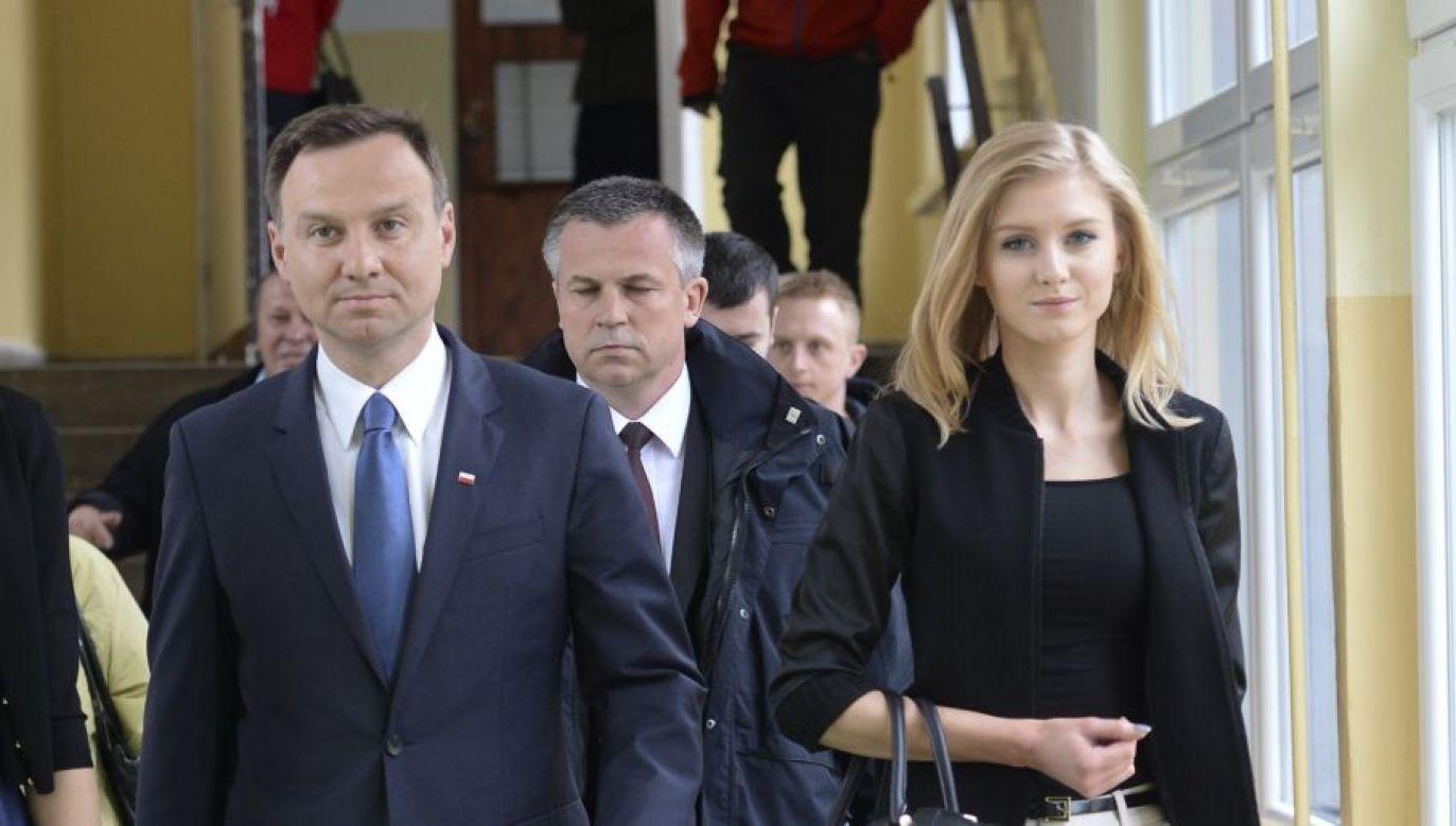 Magdalena Środa opublikowała w mediach społecznościowych wpis atakujący córkę Andrzeja Dudy , która została doradcą społecznym w KPRP (fot. Artur Widak/ Getty Images)