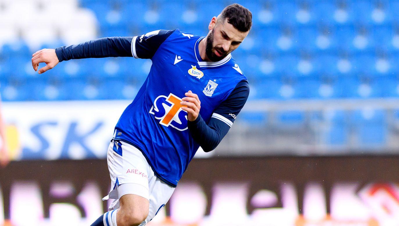 W poprzednim meczu ze Standardem Mikael Ishak strzelił dwa gole (fot. PAP/Jakub Kaczmarczyk)