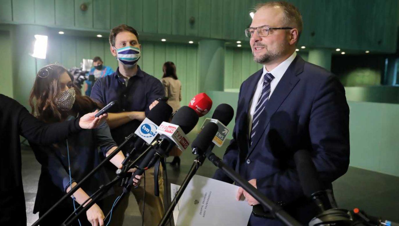 P.o. I prezesa SN Aleksander Stępkowski (fot. PAP/Tomasz Gzell)