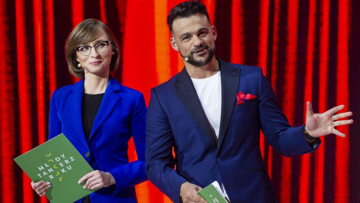 Galę finałową poprowadził duet: Barbara Schabowska i Robert El Gendy (fot. N. Młudzik/TVP)