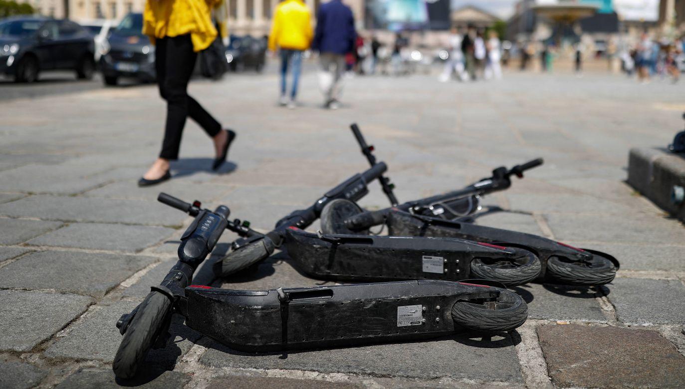 Do wypadku doszło w centrum Bordeaux (fot.PAP/EPA/ IAN LANGSDON)