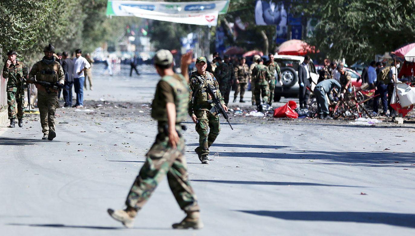 Do obu ataków przyznali się afgańscy talibowie (fot. PAP/EPA/JAWAD JALAL)