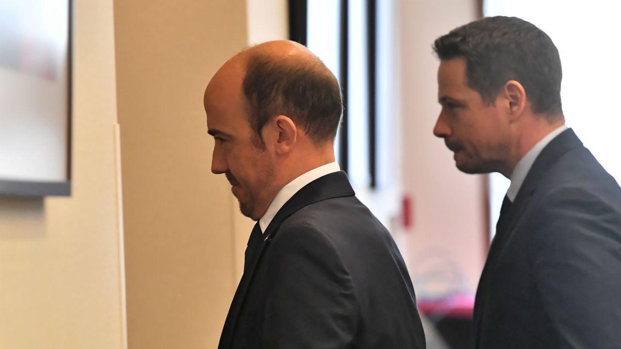 Przewodniczący PO Borys Budka i Rafał Trzaskowski (fot. arch. PAP/Piotr Nowak)