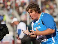 Chiara Rosa z Włoch zdobyła brązowy medal w pchnięciu kulą (fot. Getty Images)