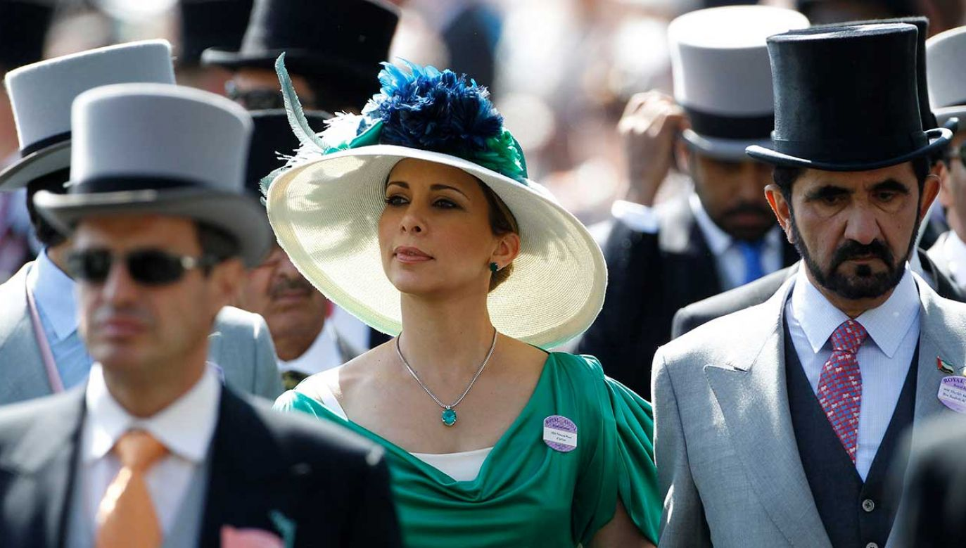 Księżniczka Haya Al-Hussein i Szejk Mohammed bin Rashid al-Maktoum (fot. REUTERSLuke MacGregor)