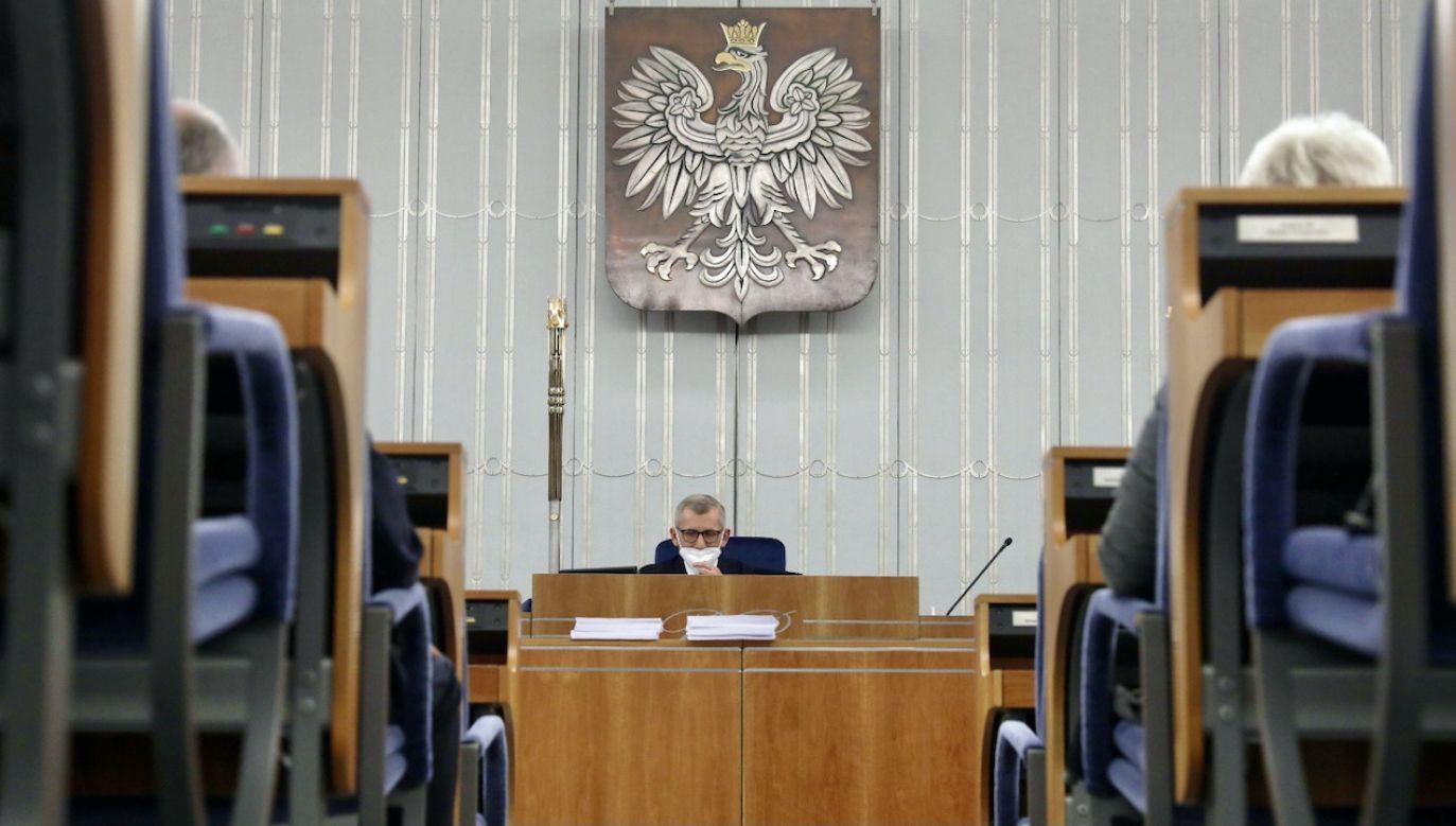Senat nie zajmie się ratyfikacją funduszu na najbliższym posiedzeniu (fot. PAP/T.Gzell)