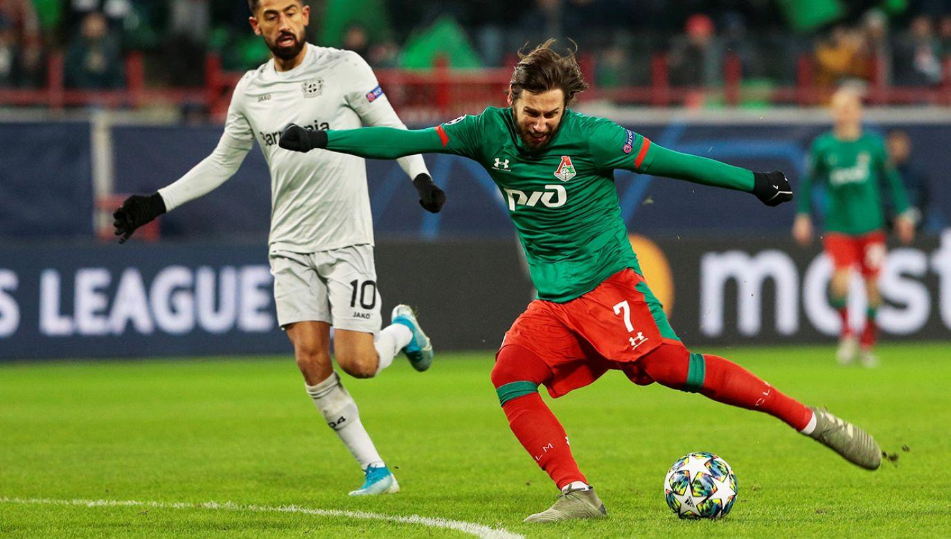 Grzegorzowi Krychowiakowi nie wyszedł mecz z Bayerem Leverkusen w Lidze Mistrzów. (fot. Sefa Karacan/Anadolu Agency via Getty Images)