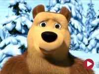 Masza i niedźwiedź, odc. 10 – Święto na lodzie