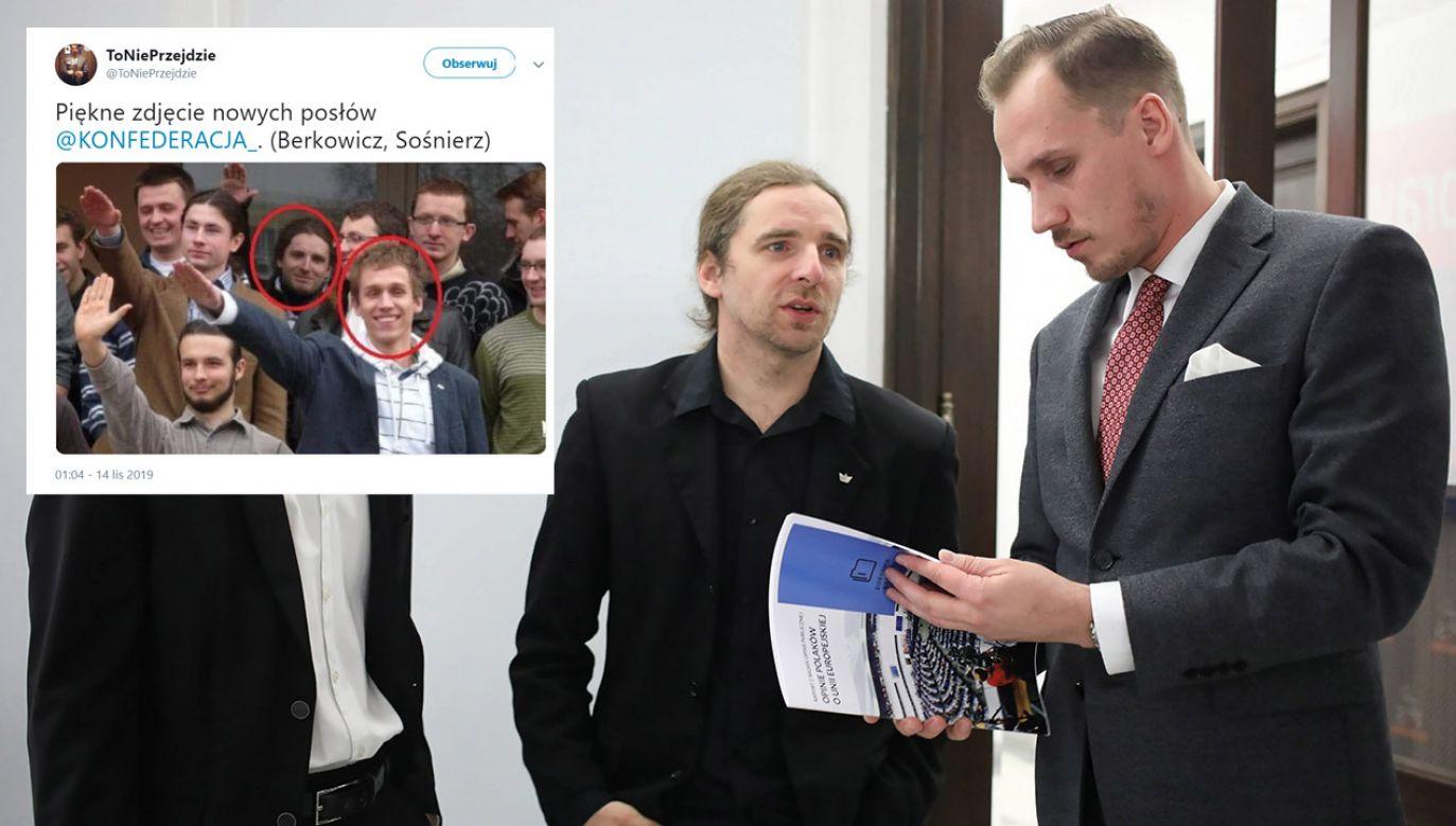 Jakbym miał się powygłupiać, to dzisiaj też bym hajlował – przyznał Dobromir Sośnierz (fot. arch.PAP/Leszek Szymański/tt/@ToNiePrzejdzie)