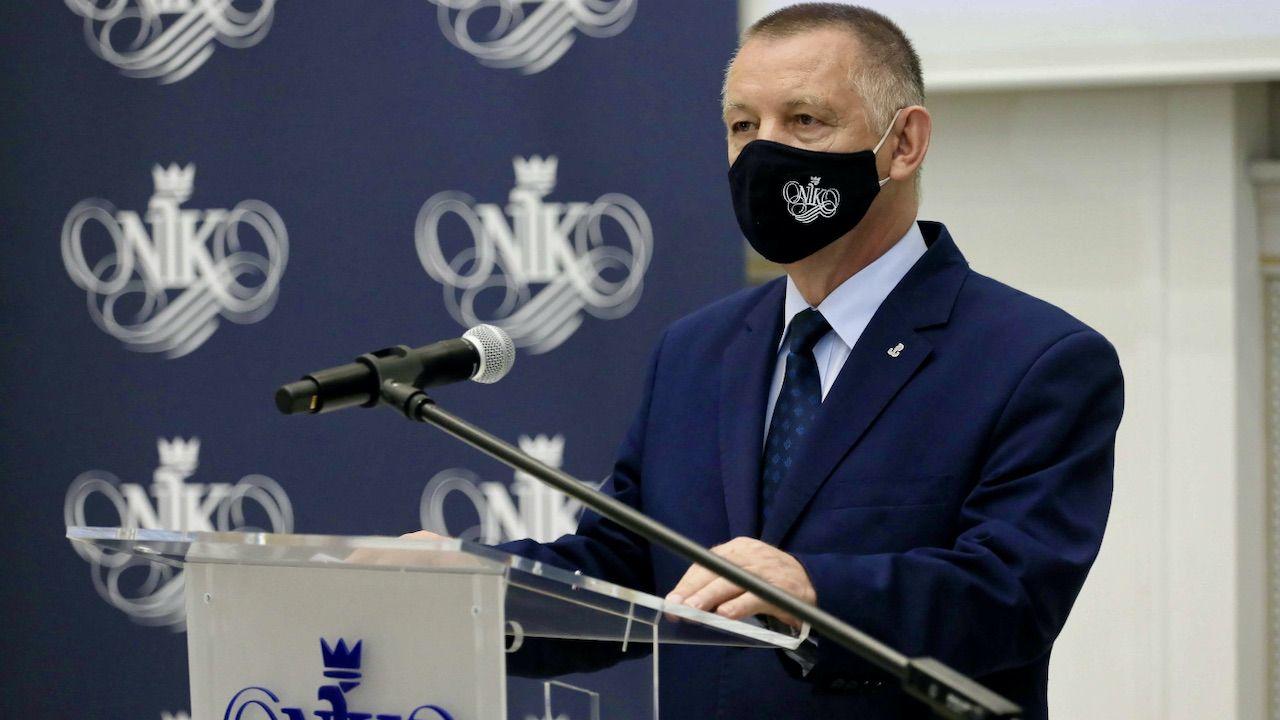 Marian Banaś (fot. PAP/Paweł Supernak)