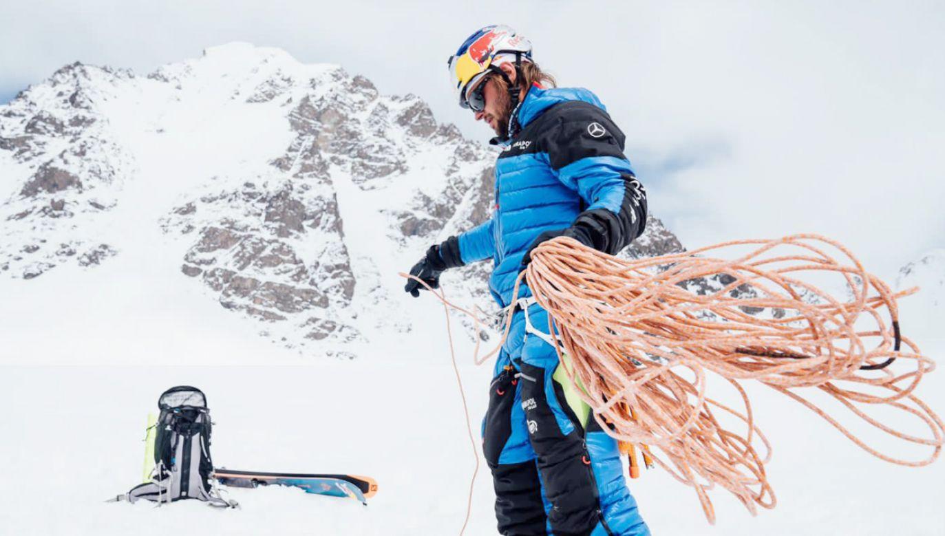 Andrzej Bargiel planuje zdobycie jeszcze jednego szczytu (fot.TT/Andrzej Bargiel)