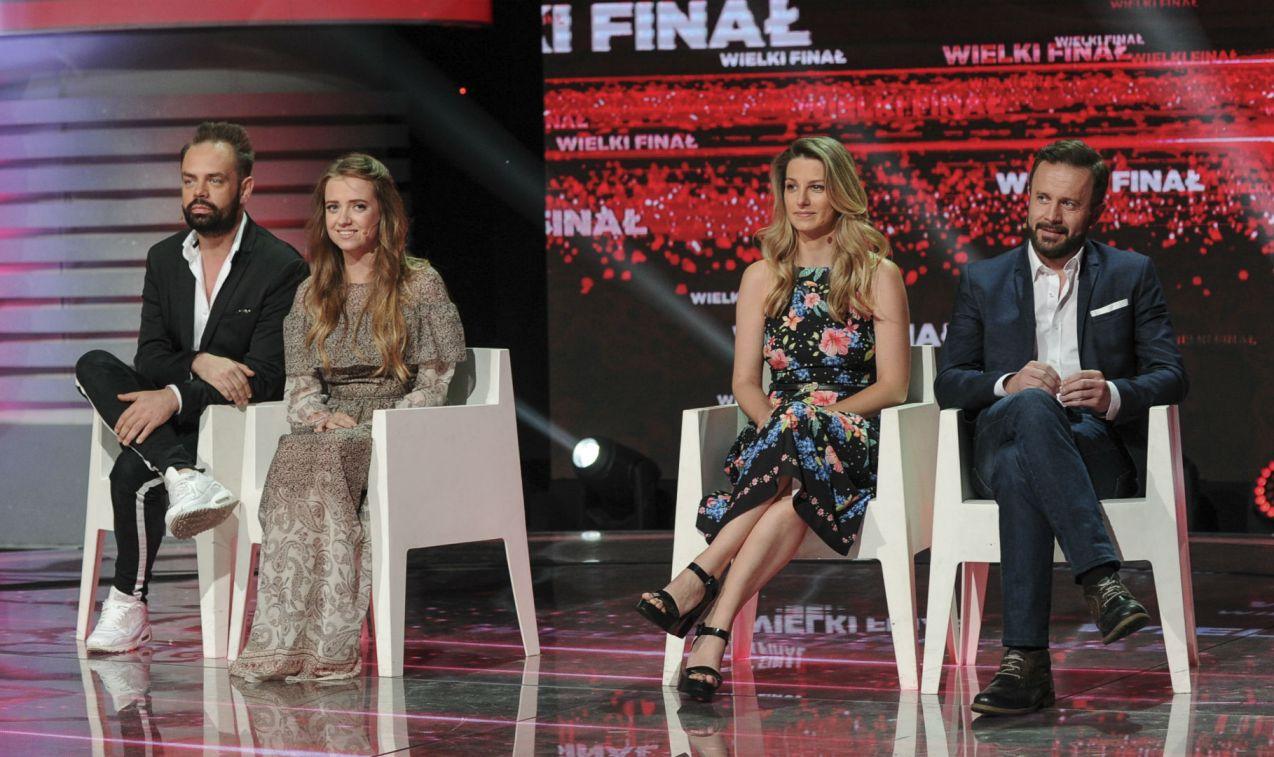 W finale zmierzyli się Joanna Derengowska i Przemysław Cypryański z Sashą Strunin i Marcinem Czyżewskim (fot. N. Młudzik/TVP)