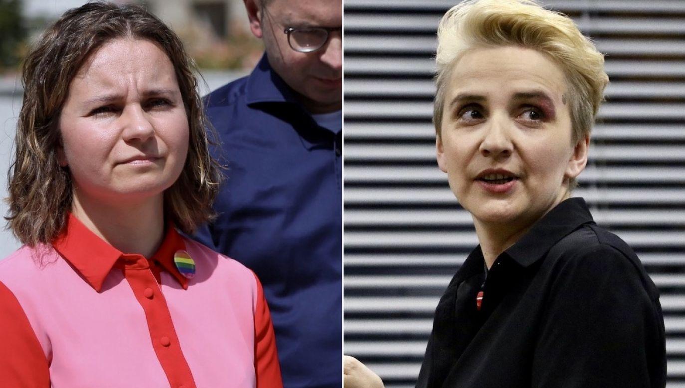 Spór ws. LGBT. Urszula Zielińska i Joanna Scheuring-Wielgus (fot. PAP/Leszek Szymański, Michal Fludra/NurPhoto via Getty Images)
