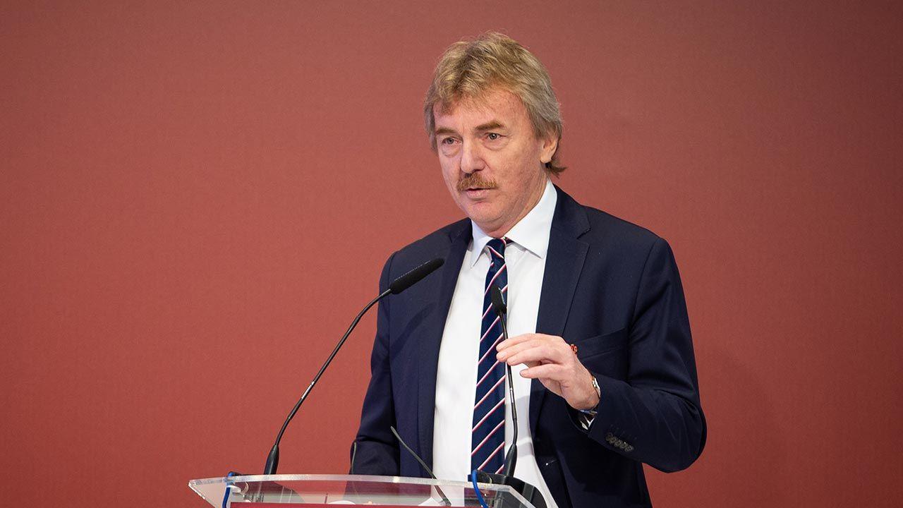 Prezes PZPN Zbigniew Boniek (fot. Forum/Mateusz Wlodarczyk)