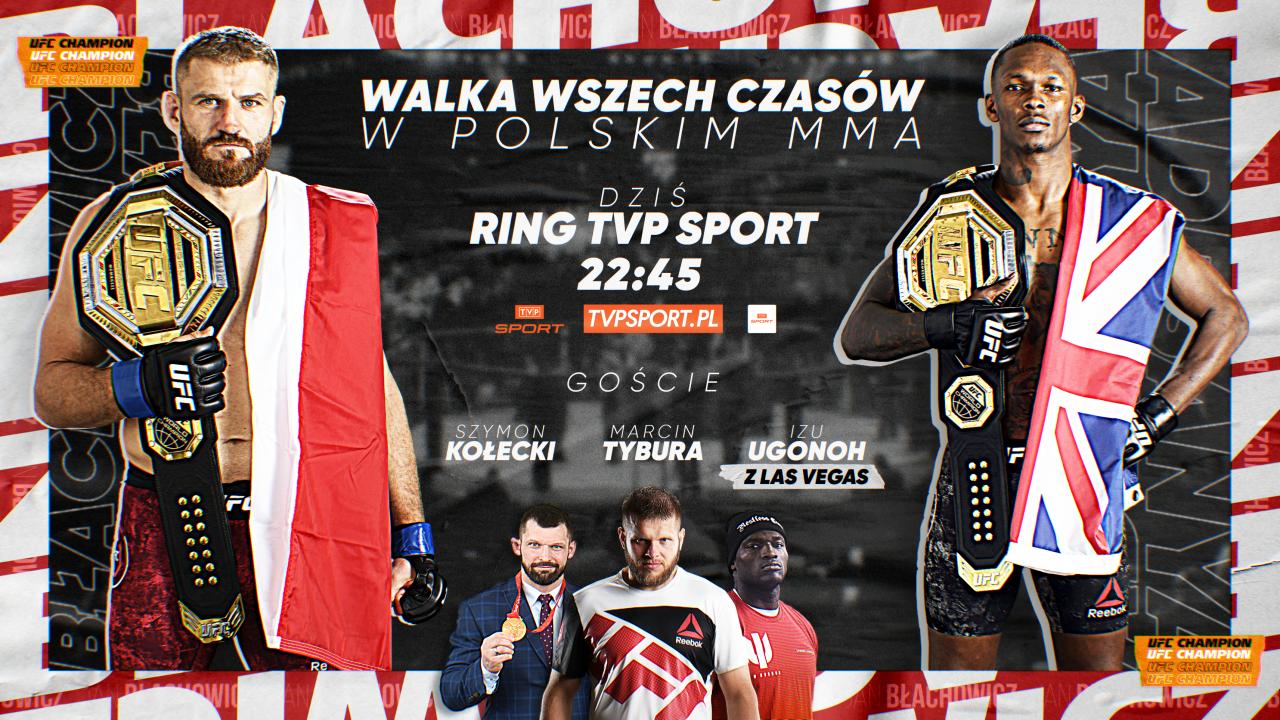 Przed walką Błachowicz – Adesanya. Kołecki, Tybura, Ugonoh analizują galę UFC (sport.tvp.pl)