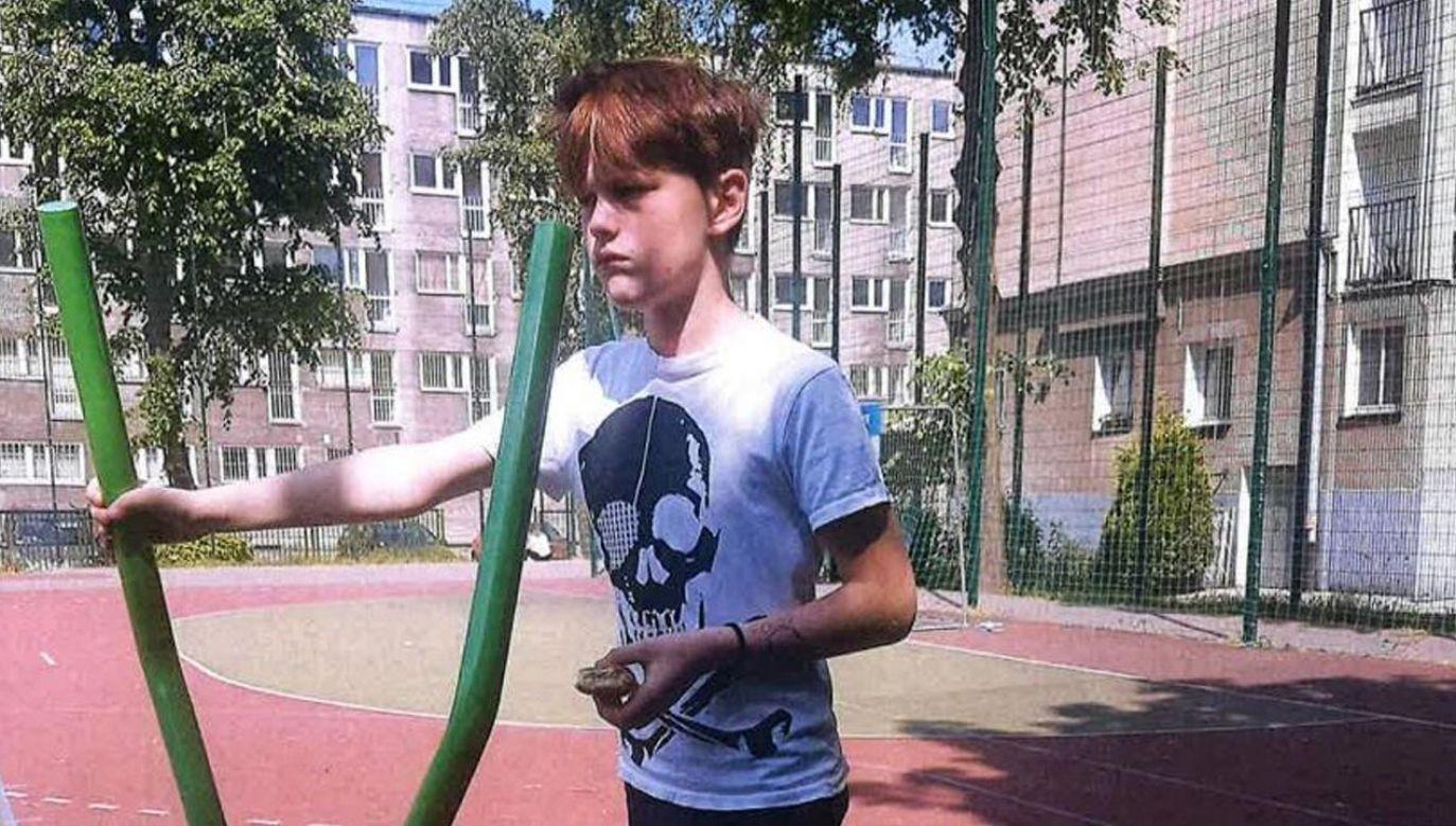 Policja udostępniła wizerunek poszukiwanego chłopca (fot. Policja)