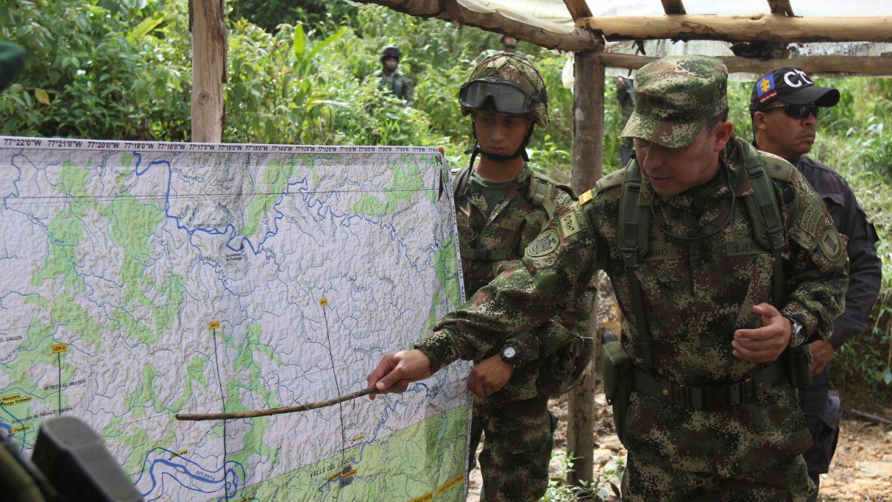 Kolumbia jest czołowym producentem kokainy (fot. EPA/Ernesto Guzman Jr)