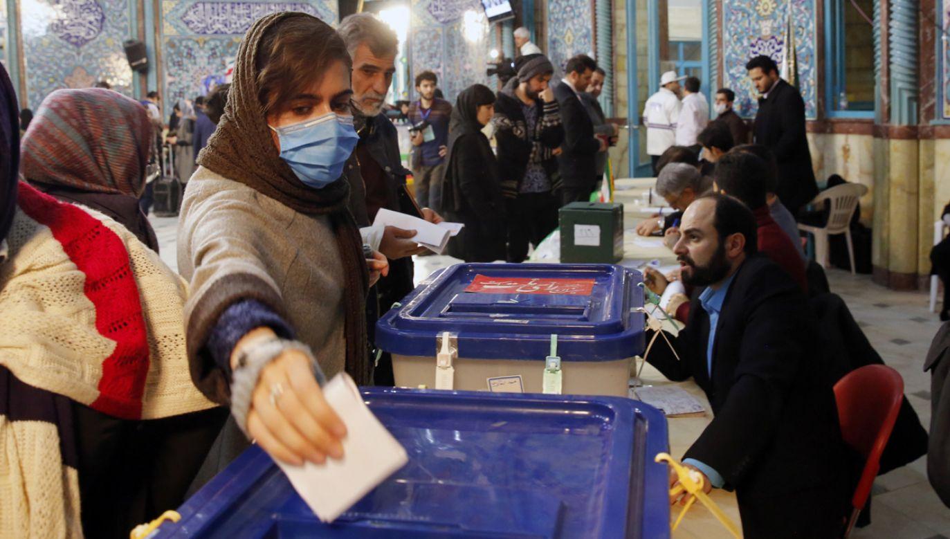 Wyniki wyborów będą znane w sobotę (fot. PAP/EPA/ABEDIN TAHERKENAREH)