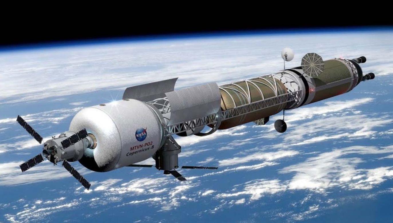 Pojazdy kosmiczne o napędzie atomowym mają latać dalej i szybciej (graf. NASA)