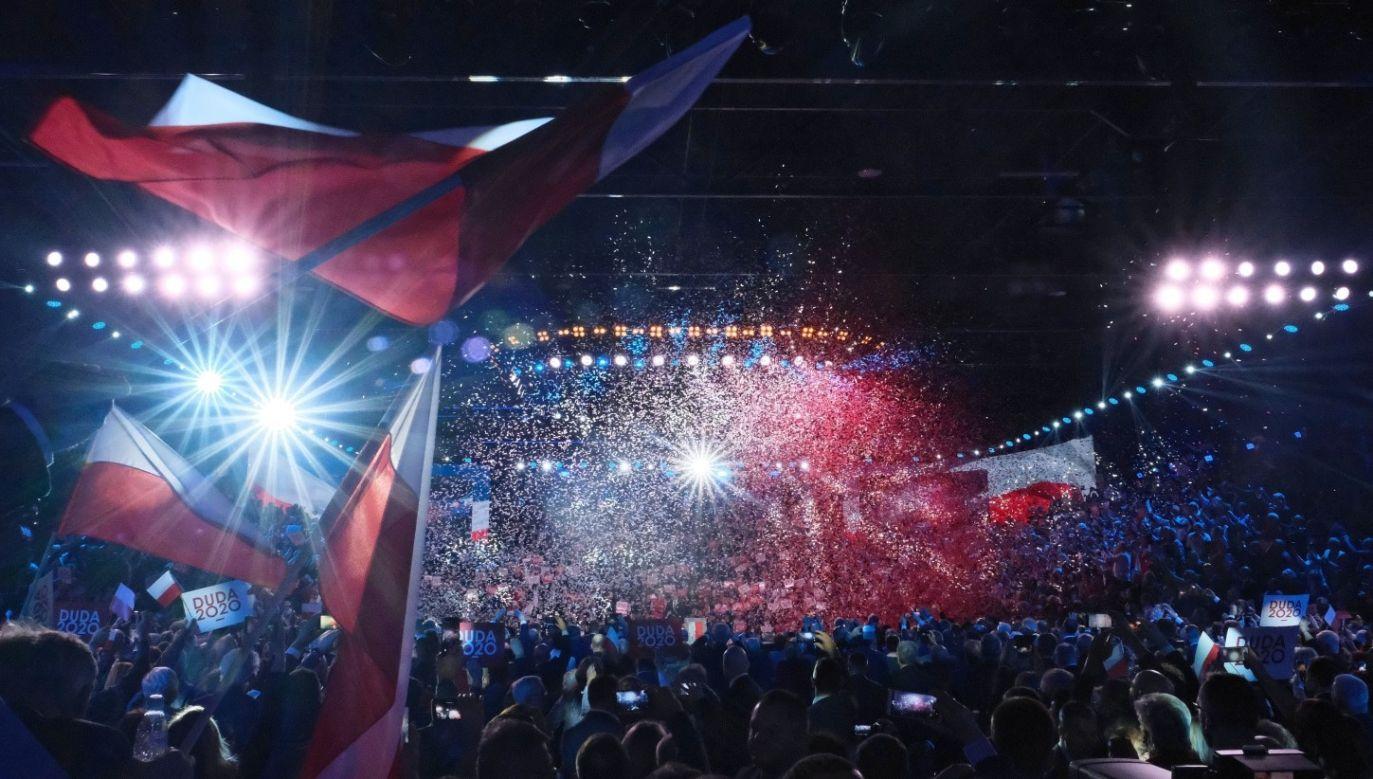 Jak uważa specjalista do spraw marketingu politycznego, wydarzenie zostało zorganizowane bardzo profesjonalnie (fot. PAP/Mateusz Marek)
