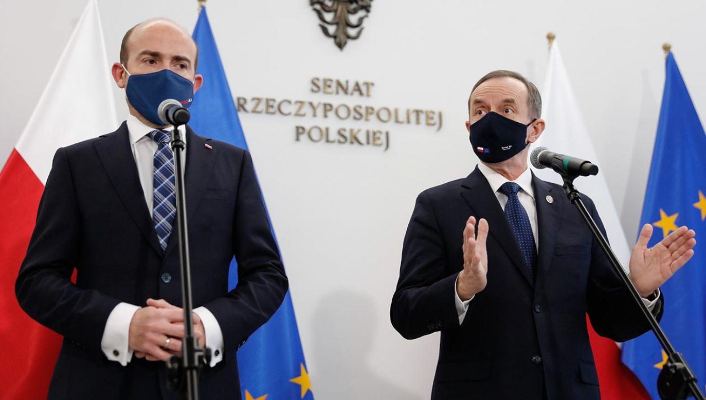 Wiceszef MEiN o Platformie Obywatelskiej (fot. Forum/ Dudek Jerzy)