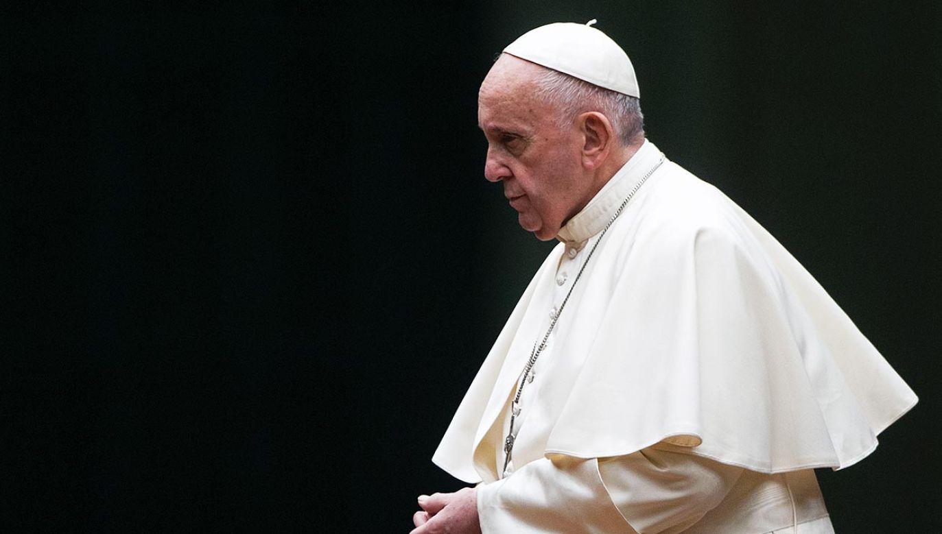Papież Franciszek (fot.  Vatican Pool - Corbis/Corbis via Getty Images)