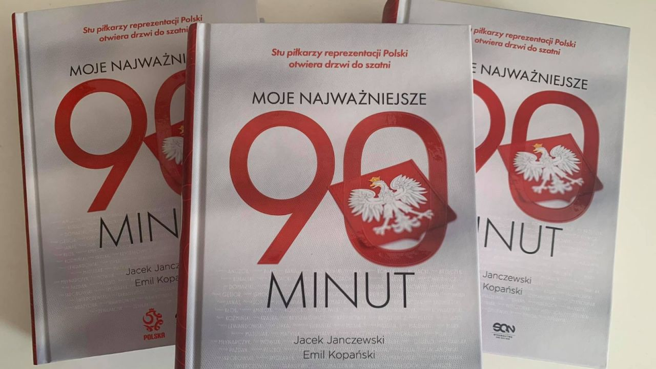 """Sprawdź, czy wygrałeś książkę """"Moje najważniejsze 90 minut"""" (sport.tvp.pl)"""