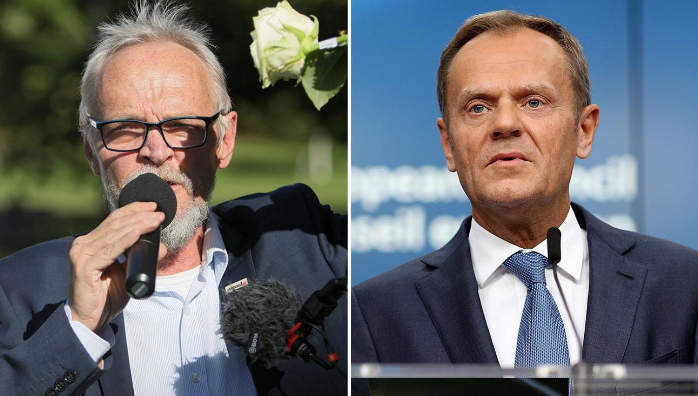 Opozycja chętnie wyciągnęłaby dziś rękę po władzę (fot. PAP/Leszek Szymański; Dan Kitwood/Getty Images)