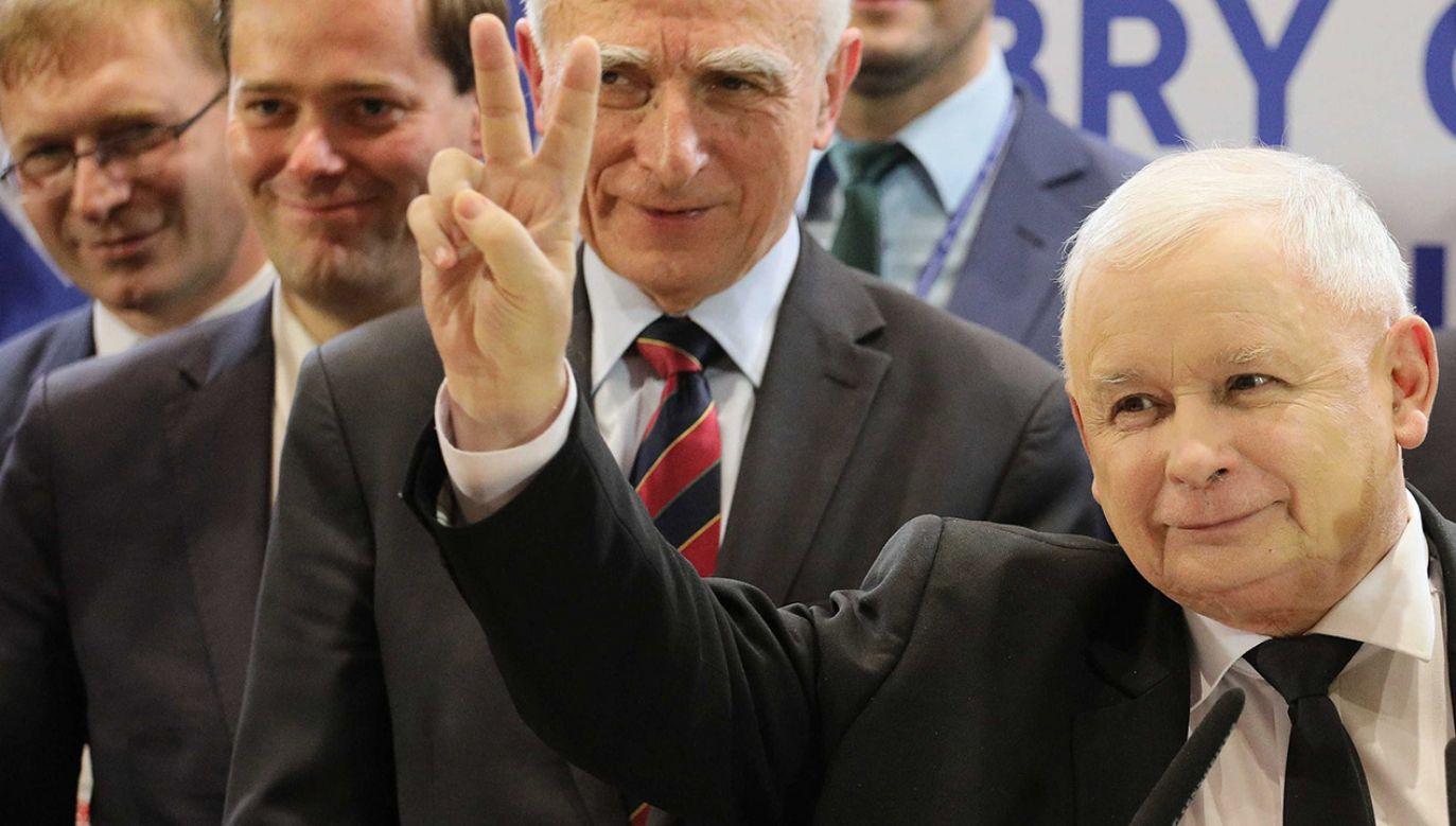 Wybór, którego społeczeństwo dokona, jest ogromnie istotny – uważa Jarosław Kaczyński (fot. PAP/Paweł Supernak)
