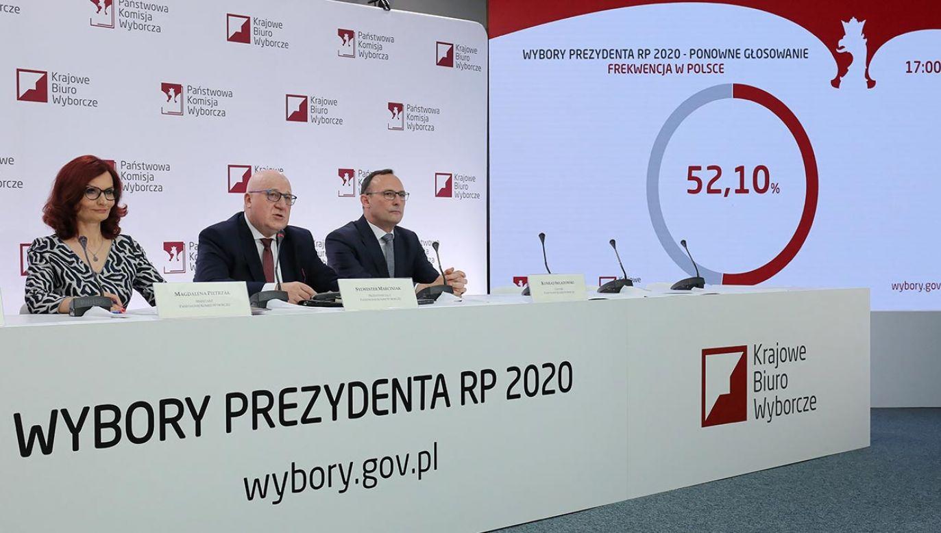 Zakończyło się głosowanie (fot. PAP/Paweł Supernak)