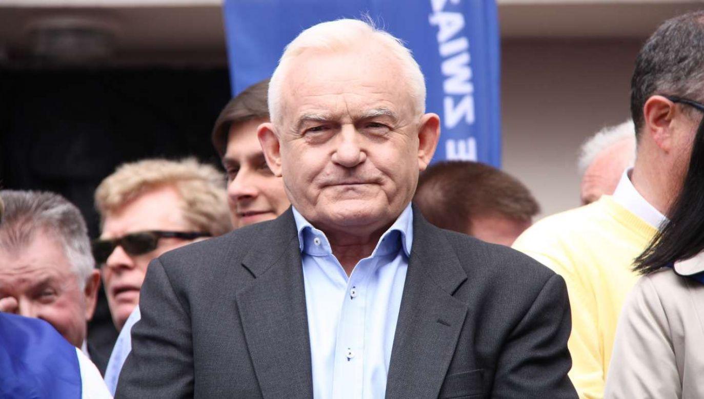 B. premier, europoseł KO Leszek Miller (fot. Tomasz Bidermann / Shutterstock)