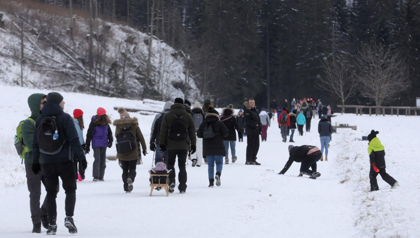 Projekt przewiduje rozszerzenie listy parków narodowych, gdzie za wstęp pobiera się opłaty (fot.PAP/Grzegorz Momot)