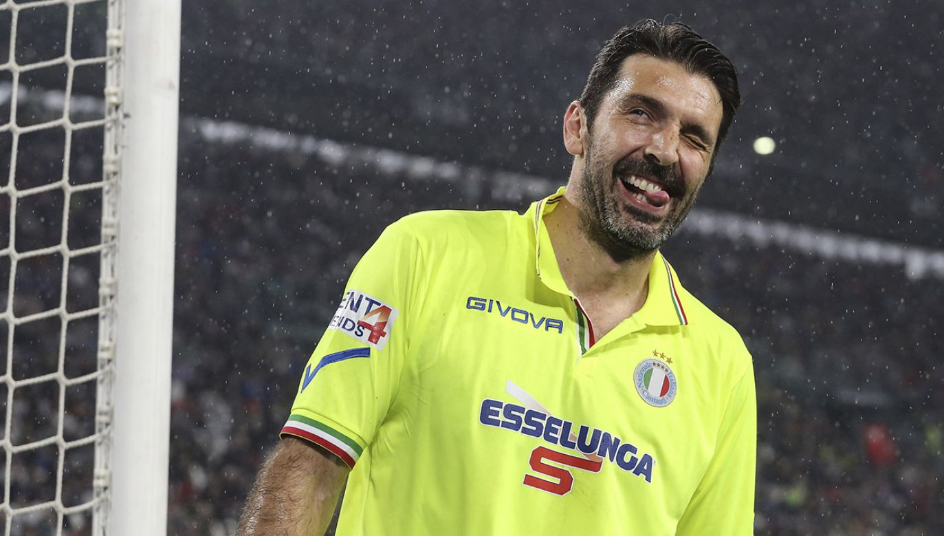 Włoski bramkarz Gianluigi Buffon (fot. Massimiliano Ferraro/NurPhoto via Getty Images)