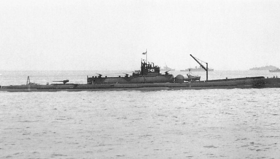 Japońskie lotniskowce typu I-400 miały być wykorzystane w ataku biologicznym na USA (fot. Wikimedia commons/domena publiczna)