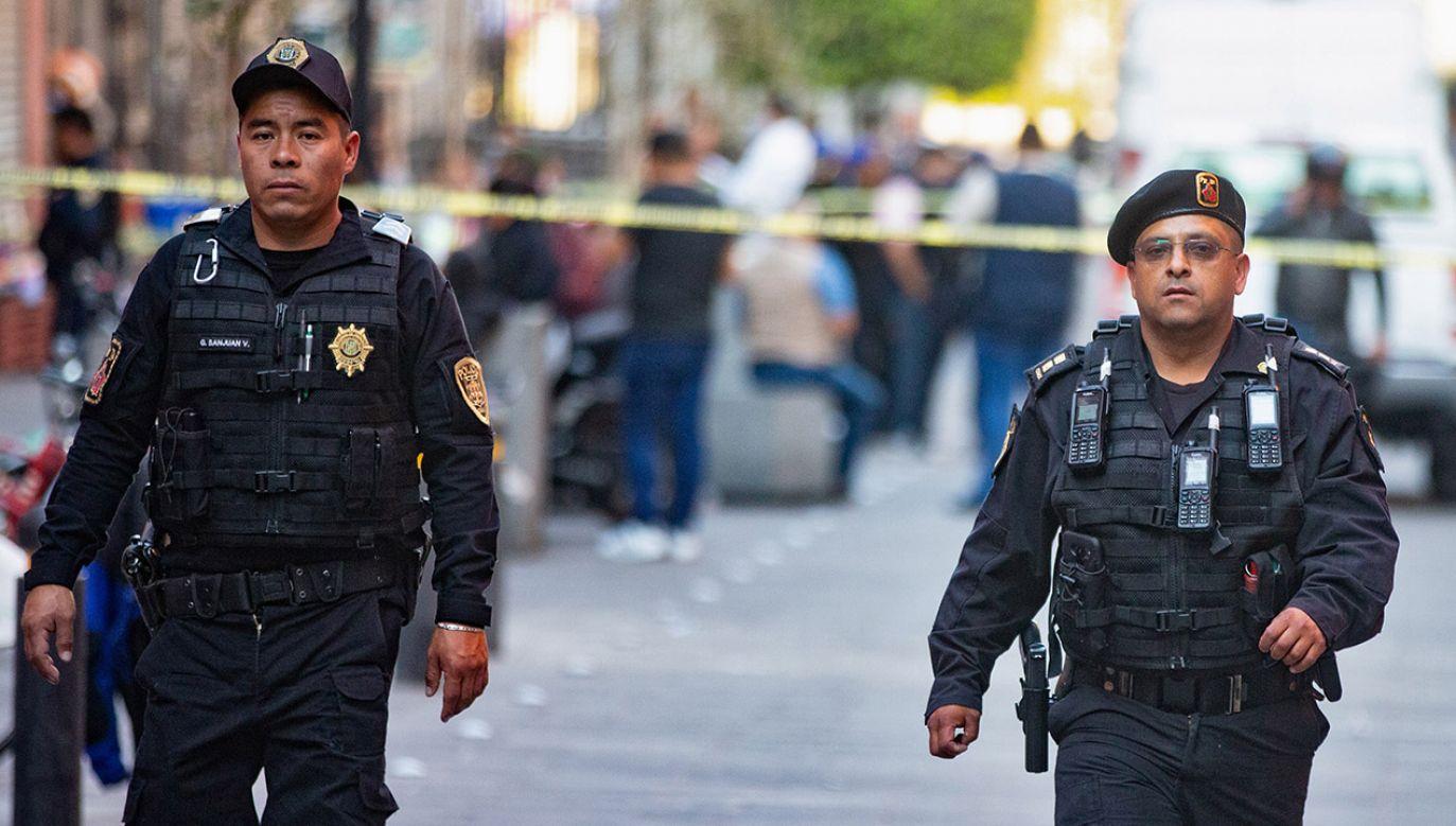 W sprawie śmierci mężczyzny prowadzone jest dochodzenie (fot. REUTERS/Nadya Murillo)
