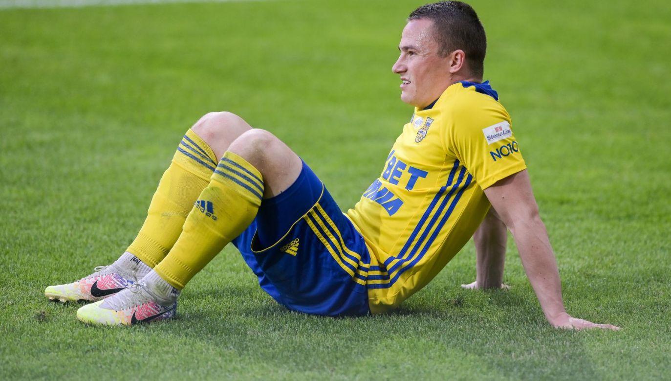 Michał Nalepa wierzy w to, że Arka Gdynia jak najszybciej wróci do PKO Ekstraklasy (fot. Getty Images)