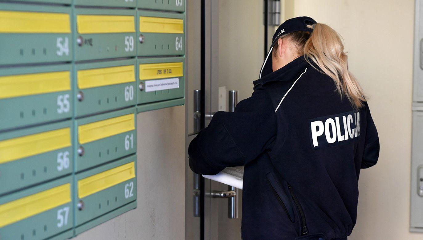 Interweniowała policja (fot. PAP/Darek Delmanowicz)