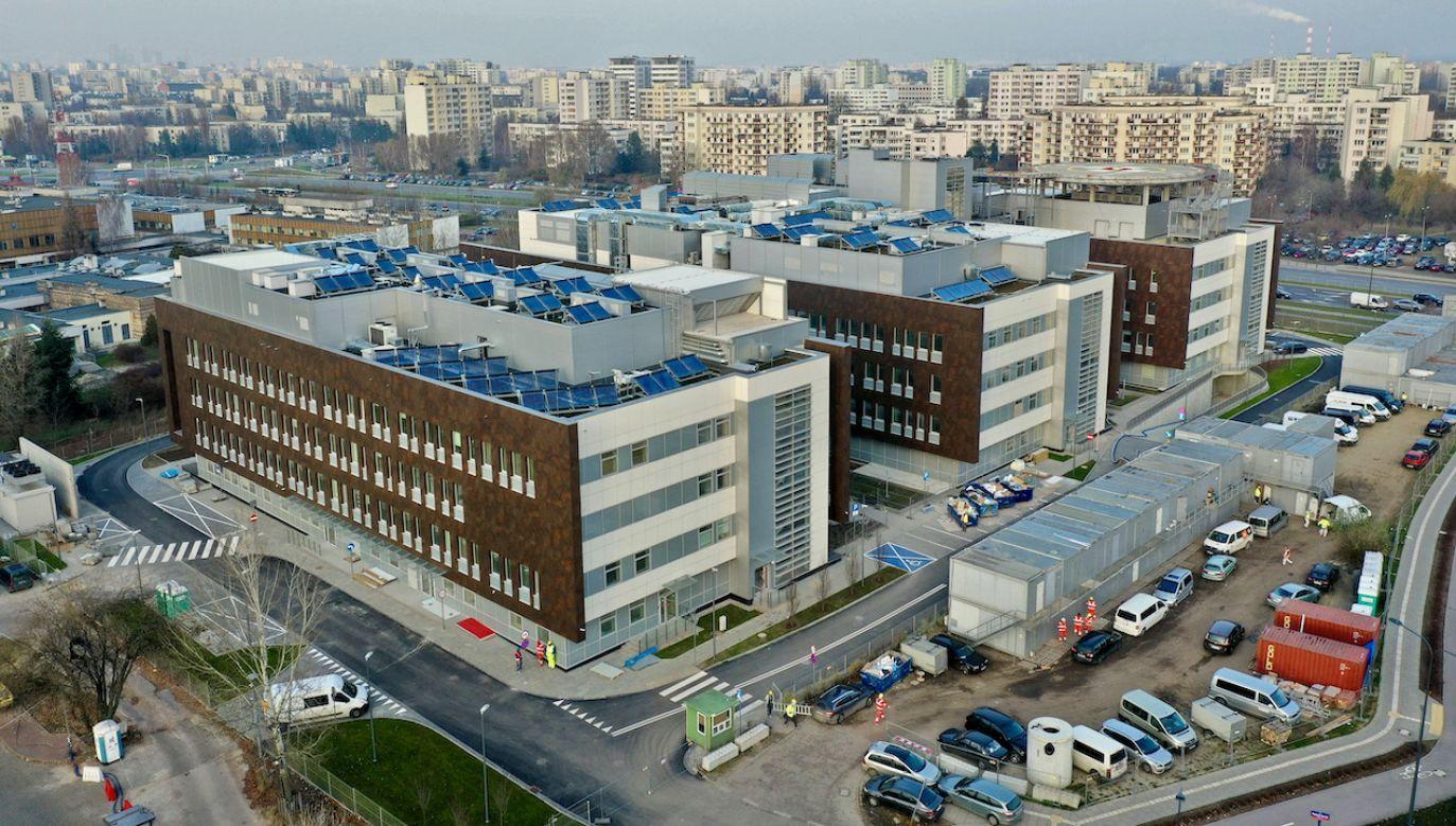 Szpital Południowy w Warszawie (fot. arch.PAP/Leszek Szymański)